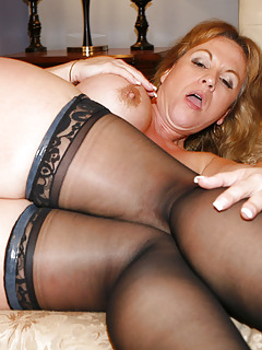 nude in stockings Moms