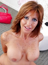 Mature naked pic porn redhead